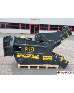 RENT DEMOLITION RD20 HYDRAULIC ROTATING PULVERIZER CRUSHER SHEAR RD-20 2021 TO FIT 21~28T EXCAVATOR R9415612