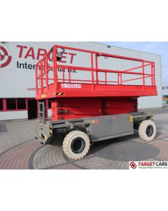 HOLLAND LIFT Q-135EL24 MONOSTAR ELECTRIC SCISSOR WORK LIFT 1550CM 2002 643HRS