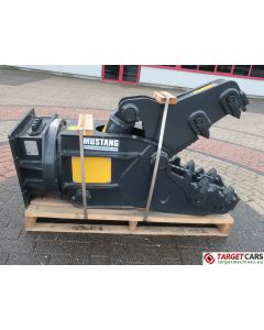 MUSTANG RH05 HYDRAULIC ROTATION PULVERIZER CRUSHER SHEAR RH-05 2021 TO FIT 5~8T EXCAVATOR AH211540